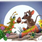 curt-walstead-catapillarmouse-cartoon