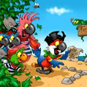 pete-beard-cartoon-parrots