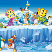 Roberto-Barrios-cartoons-Small jaguars and penguins