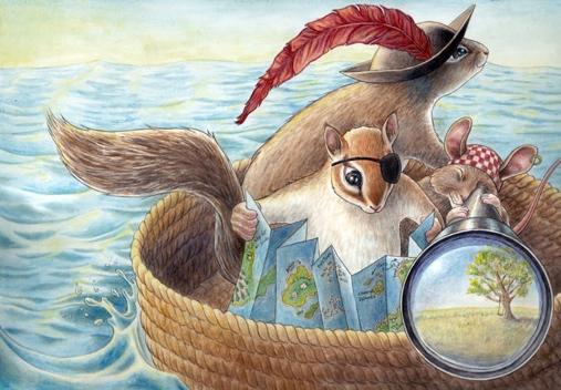 Rebecca-Solow-Animals-Pirates