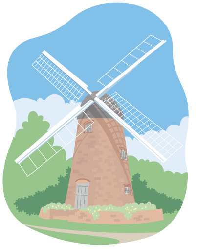 Solihull_poster_windmill