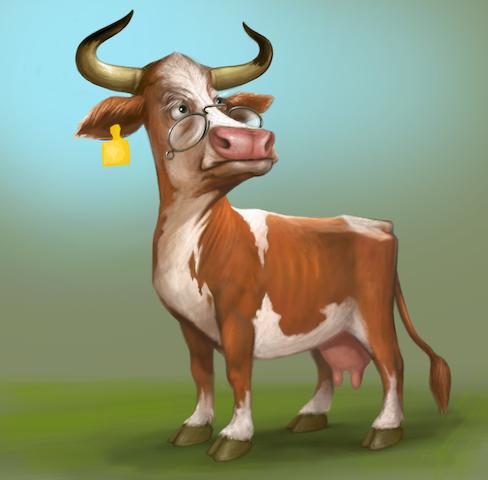 Stan Mikovhappy cow copy