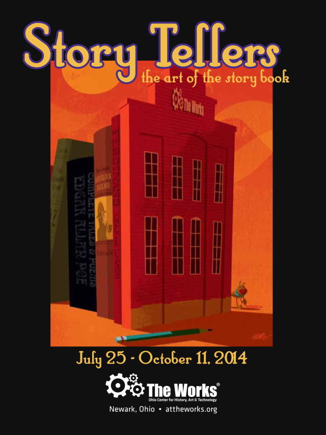 John Skewes Story Tellers Poster