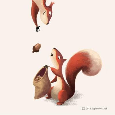 Sophie Mitchell Squirrels