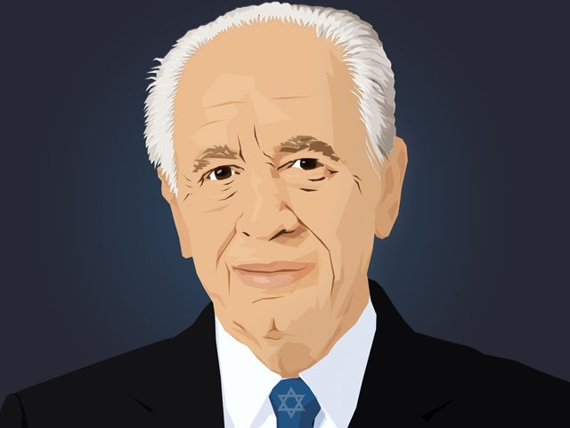 shimon-peres-by-daniel-morgenstern
